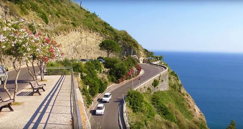 дороги на острове Искья