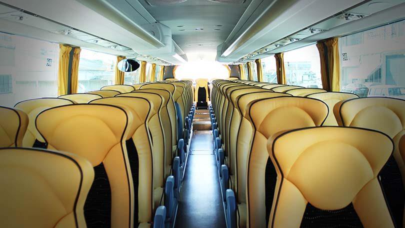 Автобус на острове Искья
