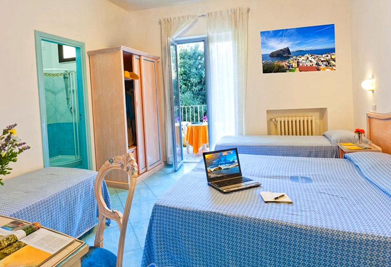 Отель на острове Искья 3 звезды