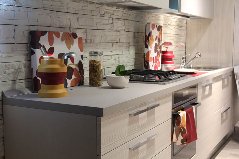 Кухня в апартаментах на Искье